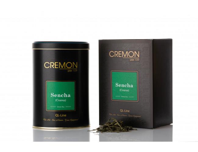 Чай зелений Cremon Сенча у подарунковій упаковці 80г