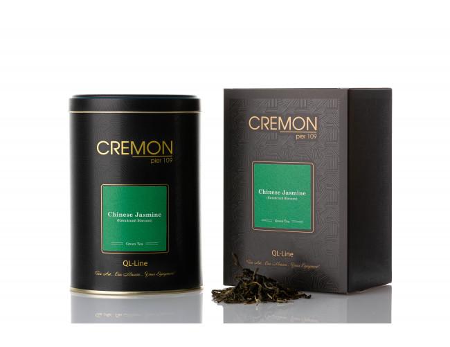 Чай зелений Cremon Китайський жасмин у подарунковій упаковці 110г.