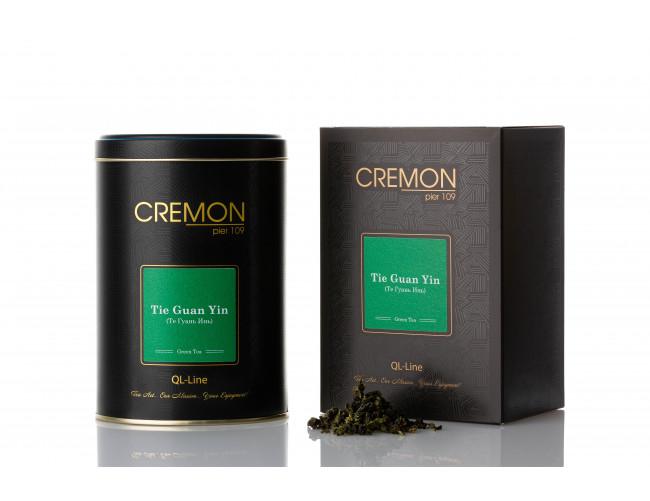 Чай зелений Cremon Те Гуань Інь у подарунковій упаковці 170г