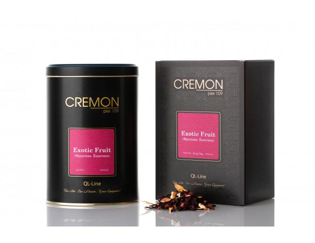 Чай фруктовий Cremon Фруктова Екзотика в подарунковій упаковці 130г