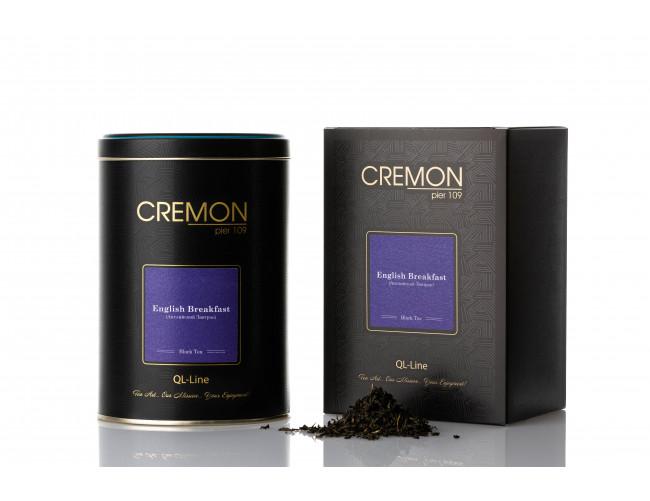Чай чорний Cremon Англійський Сніданок в подарунковій упаковці 120г