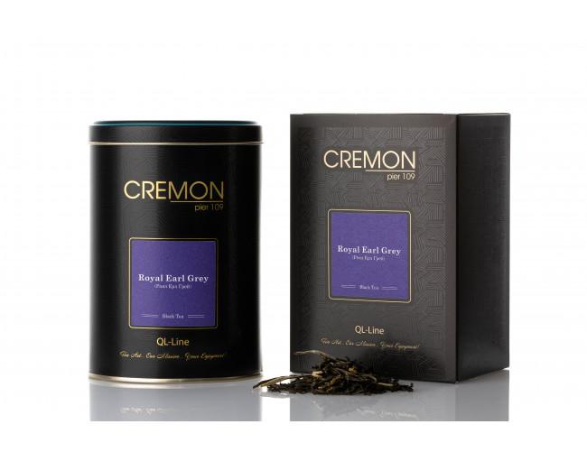 Чай чорний Cremon Роял Ерл Грей в подарунковій упаковці 120г