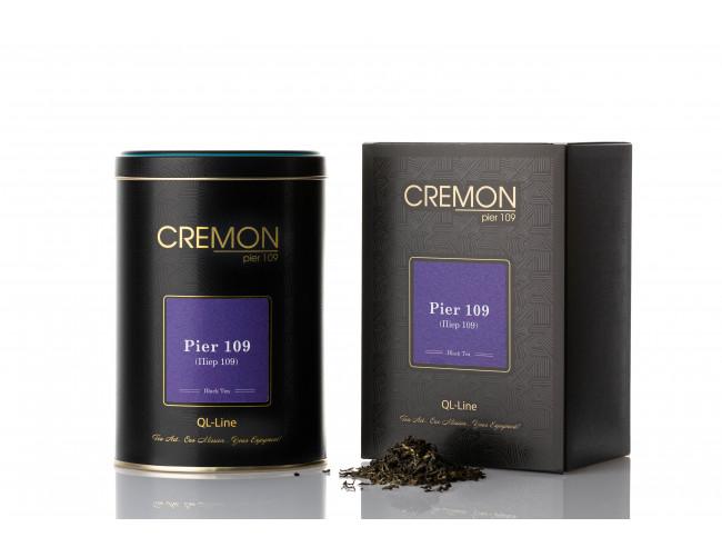 Чай чорний Cremon Пієр 109 в подарунковій упаковці 130г