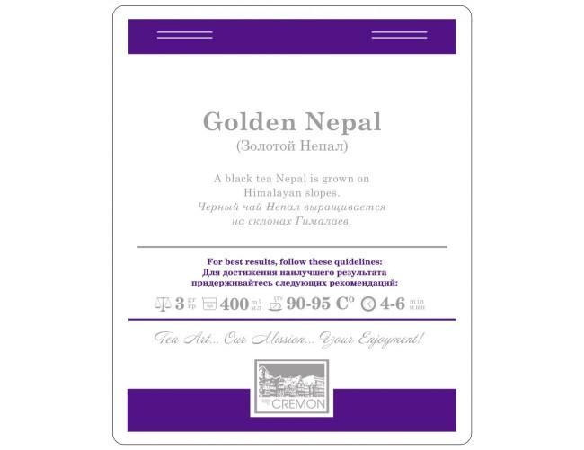 Чай листовий Cremon Золотий Непал