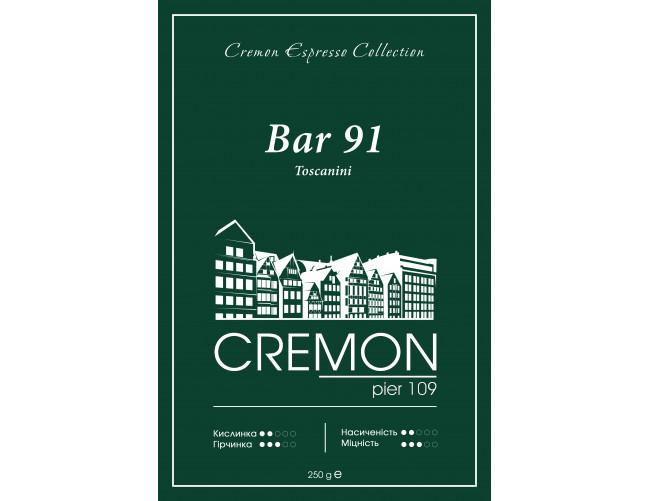 Кава CREMON Espresso Collection Bar 91 Tascanini 250г