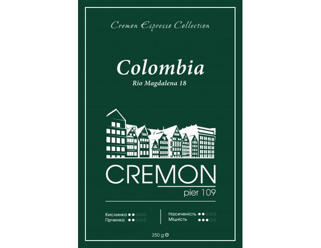 Кава CREMON Espresso Colombia Rio Magdalena 18 250г