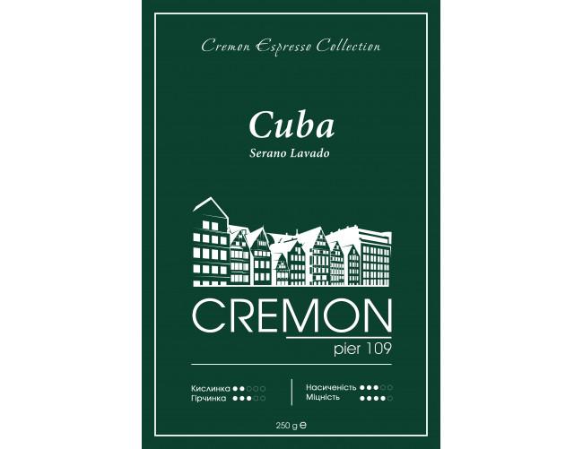 Кава CREMON Espresso Collection Cuba Serano Lavado 250г