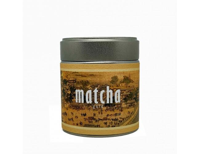 Чай Cremon Матча Голд из Уджи, 30 г.