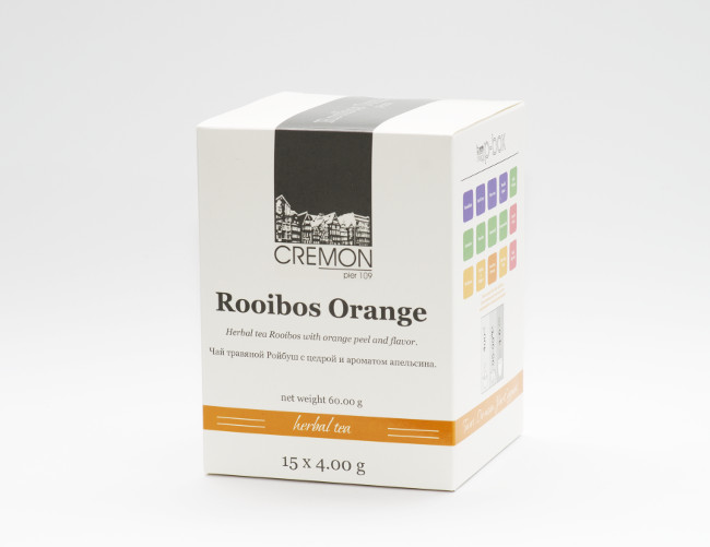 Чай ройбуш Сremon Rooibush Orange в пирамидках 15 шт х 4.0г