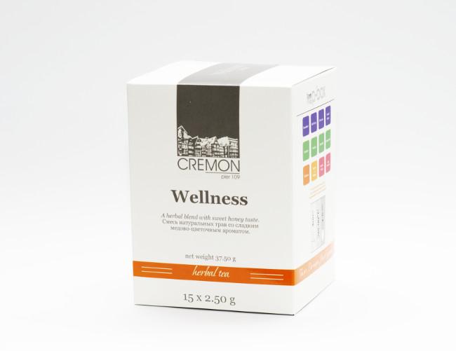 Чай трав`яний  Велнес  в пірамідках 15 шт х 2.5г