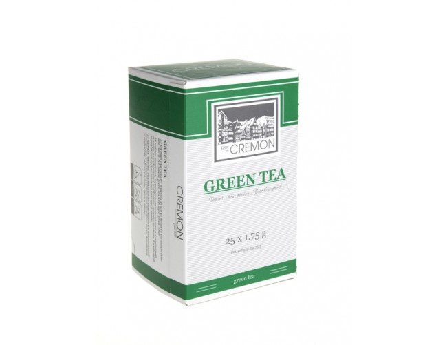 Чай зеленый Сremon Green Tea в пакетиках 25 шт х 1.75г