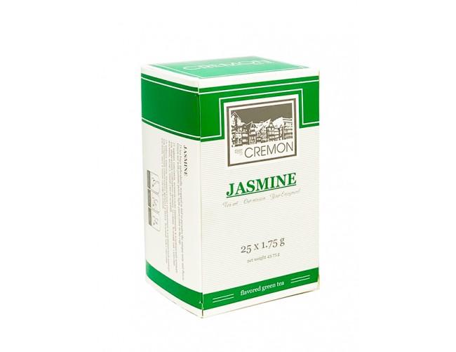 Чай зеленый Сremon Jasmin в пакетиках 25 шт х 1.75г